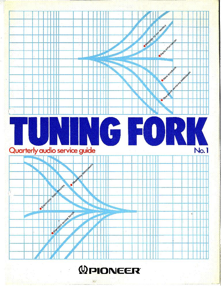 Pioneer Tuning Fork 1