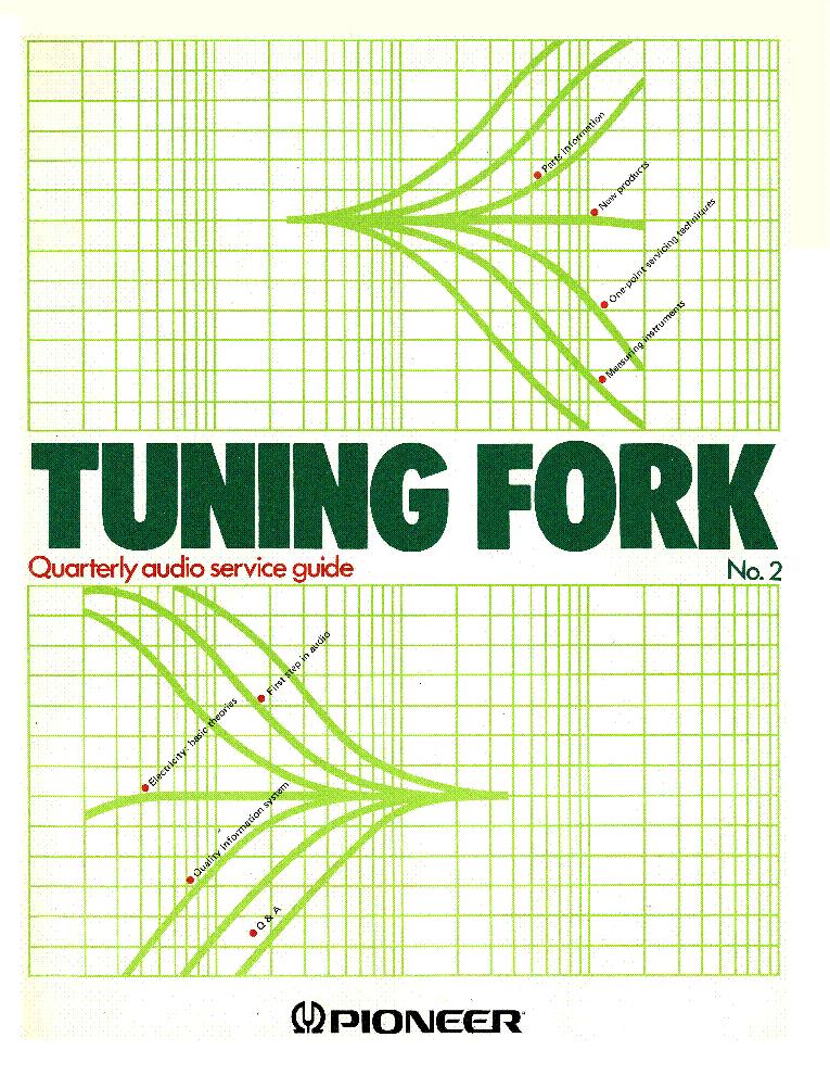 Pioneer Tuning Fork 2