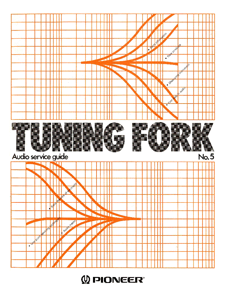 PIONEER TUNING FORK 5 service manual (1st page)