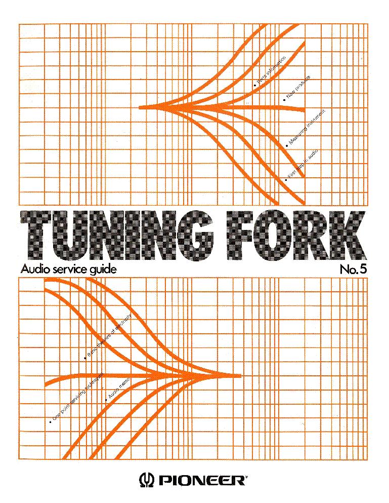 Pioneer Tuning Fork 5