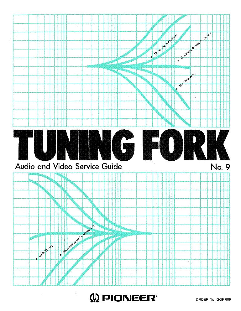 Pioneer Tuning Fork 9