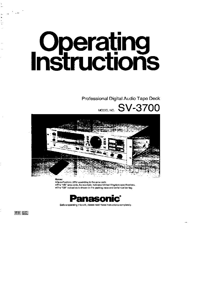 Panasonic Sv