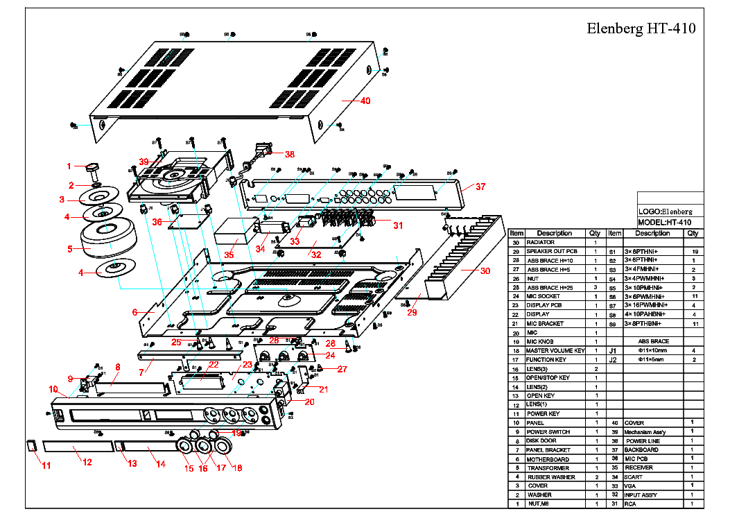 Инструкция elenberg ht 111