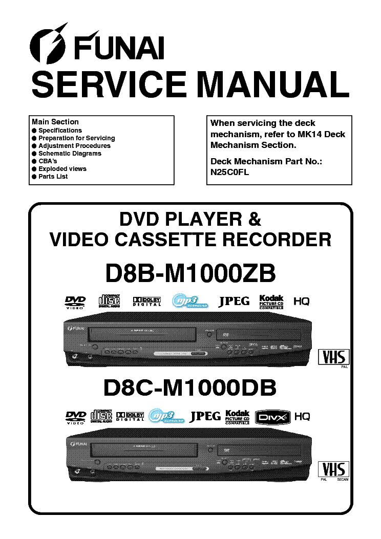 funai td6d m101 manual