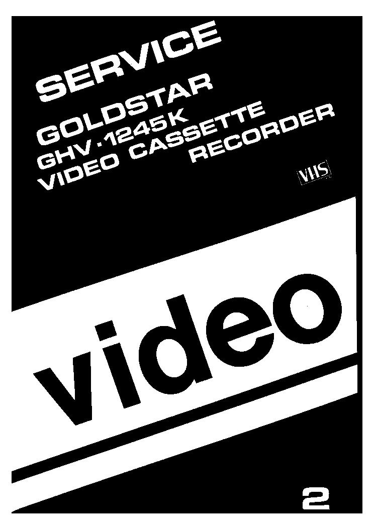 goldstar ghv 1245k vcr sch service manual download schematics rh elektrotanya com goldstar dvd vcr combo manual goldstar tv vcr combo manual