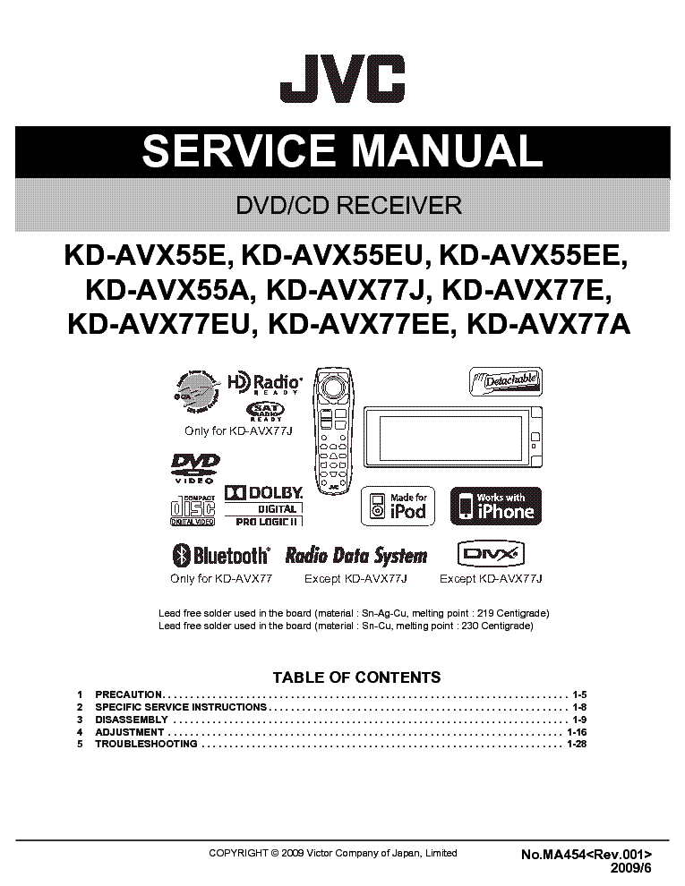 Jvc Hrd210e Eg Ek Service Manual Download Schematics Eeprom