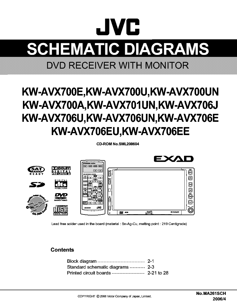 Jvc Kdr300 Wiring Diagram
