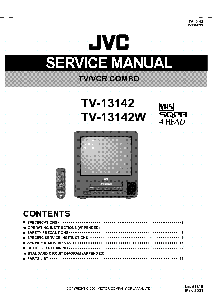Jvc Vcr Manual Free User Guide