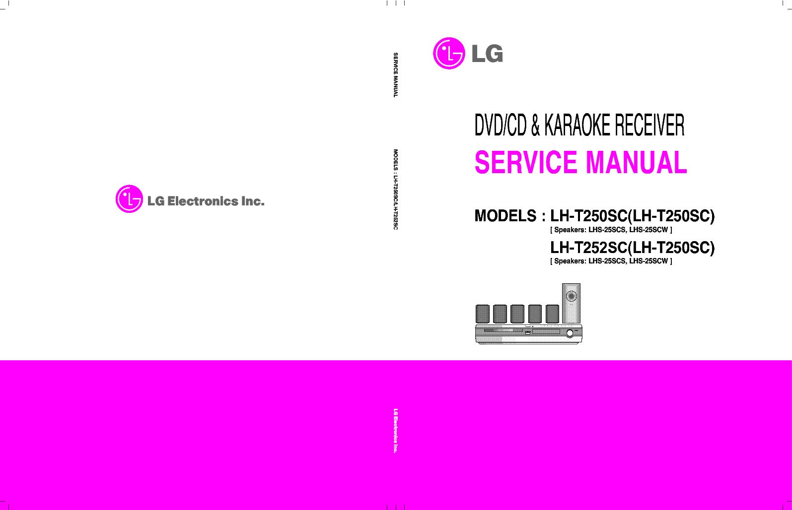lg lh t250sc t252sc service manual download schematics. Black Bedroom Furniture Sets. Home Design Ideas