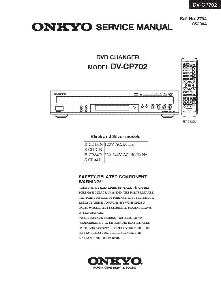 onkyo dv cp702 sm service manual download schematics eeprom rh elektrotanya com User Manual User Manual