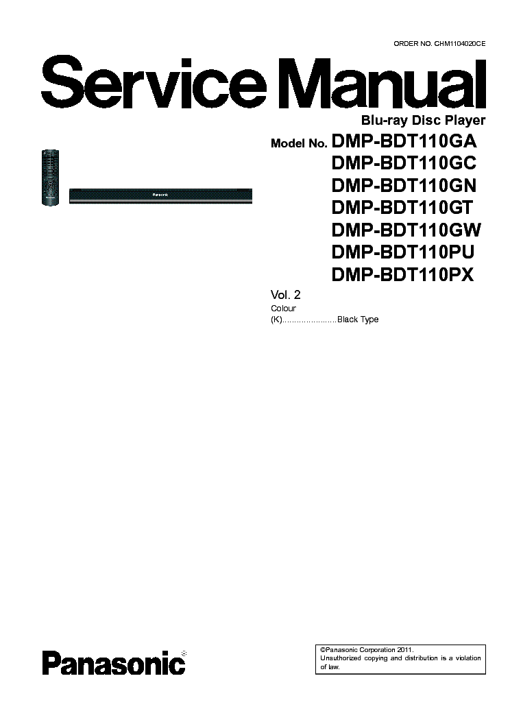 panasonic dmp bdt110 vol 2 service manual download schematics rh elektrotanya com panasonic blu ray dmp-bdt110 manual panasonic dmp-bdt110 manual pdf