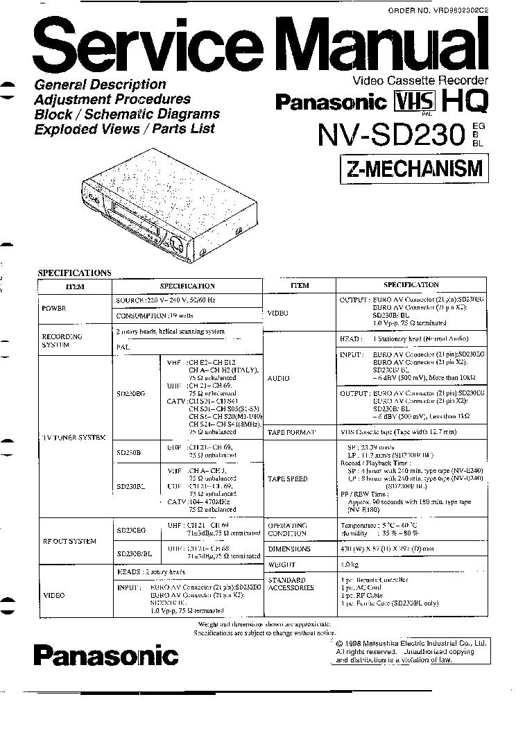 counterpoint sa 220 service manual