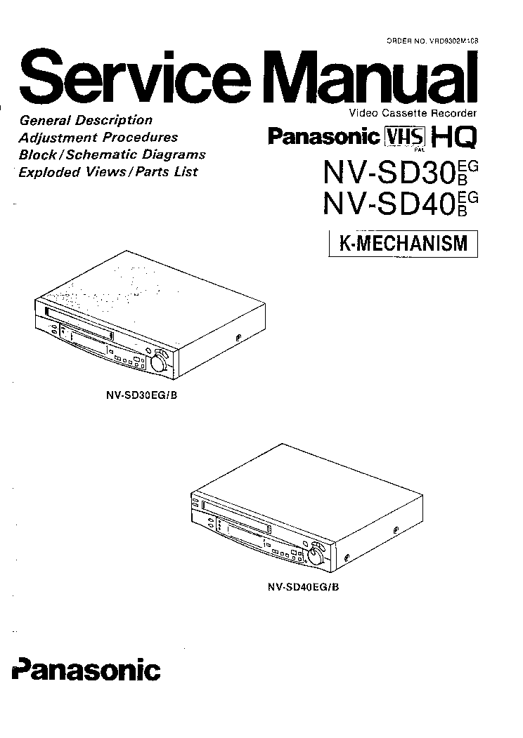 Инструкция пользователя panasonic nv sd320