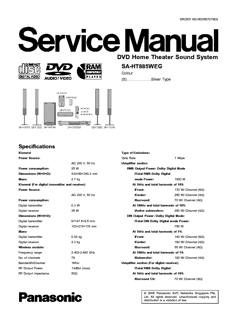 Panasonic sc-ht520 user manual   page 23 / 40   original mode.