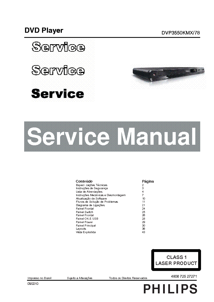 philips sacd1000 sm service manual free download
