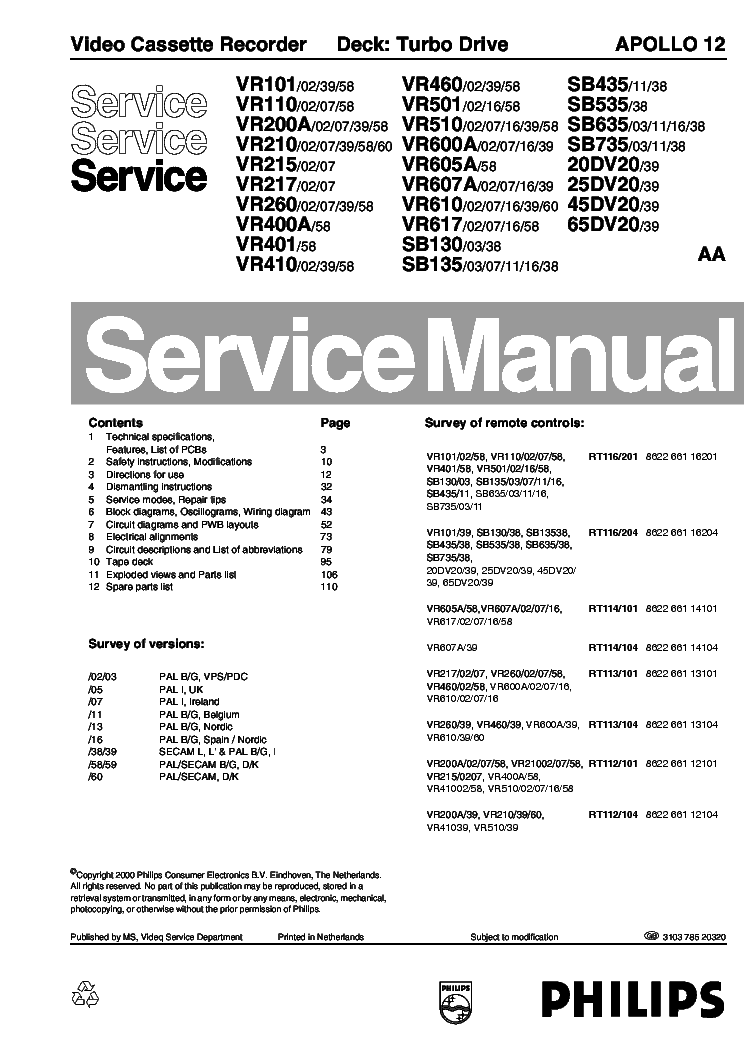Philips Ccs 400 Service Manual
