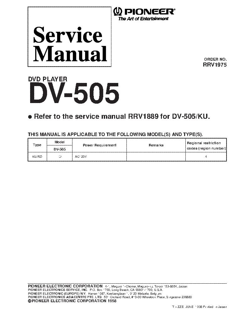 pioneer_dv 505_rrv1975_supplement.pdf_1 pioneer avh p4450bt wiring diagram avh p4450bt firmware update Basic Electrical Wiring Diagrams at eliteediting.co