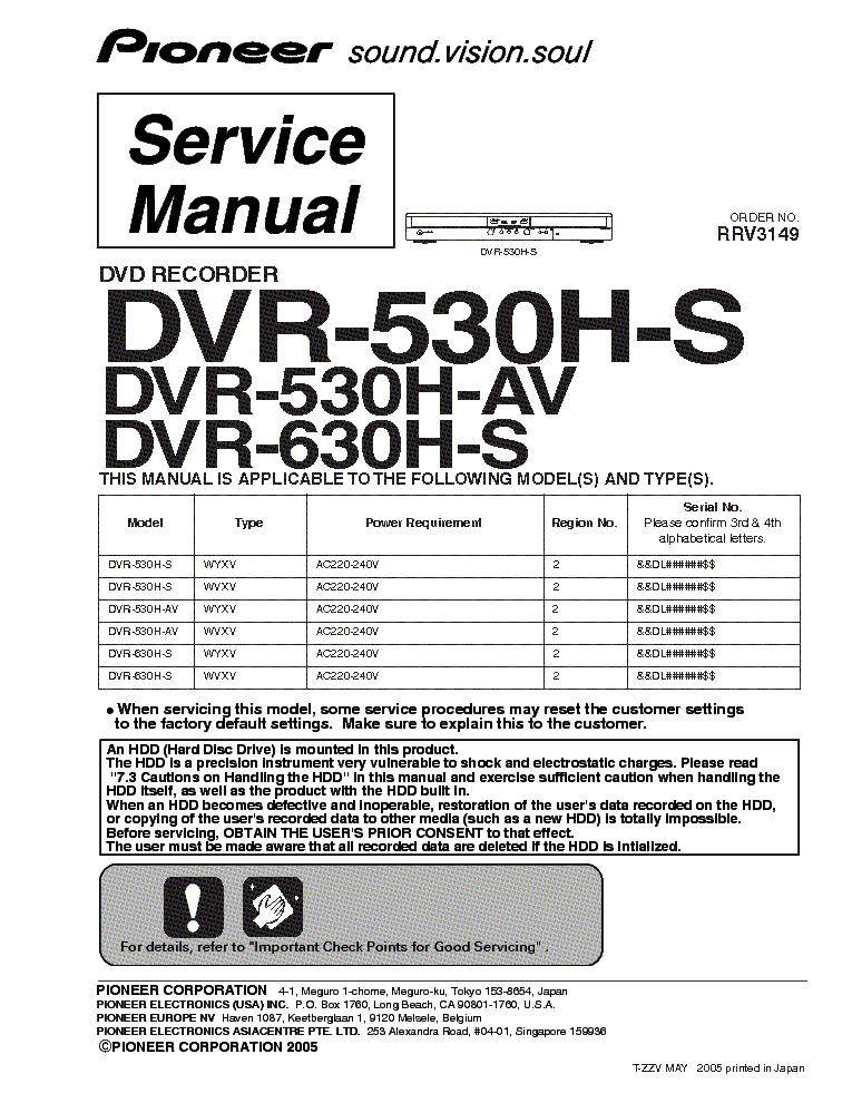 PIONEER DVR-530H-S RECORDER DRIVERS WINDOWS 7 (2019)