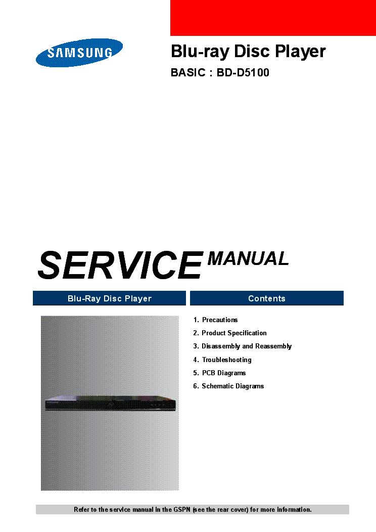 samsung_bd d5100.pdf_1 samsung bd d5100 service manual download, schematics, eeprom, repair