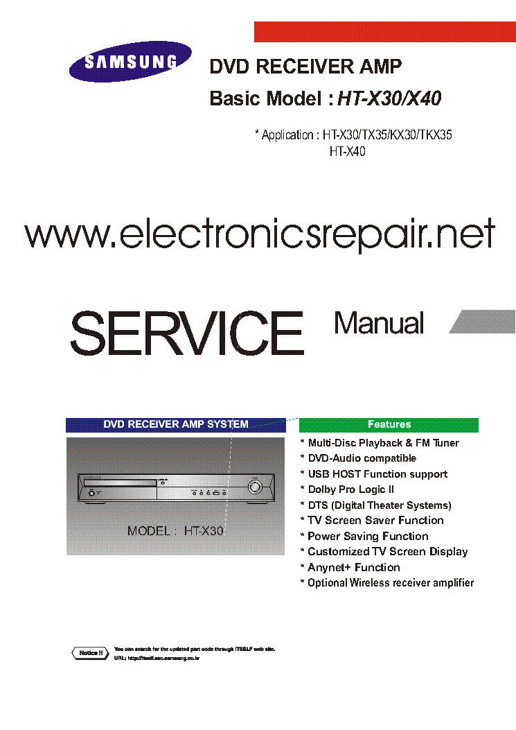 Samsung service repair manual ebook.