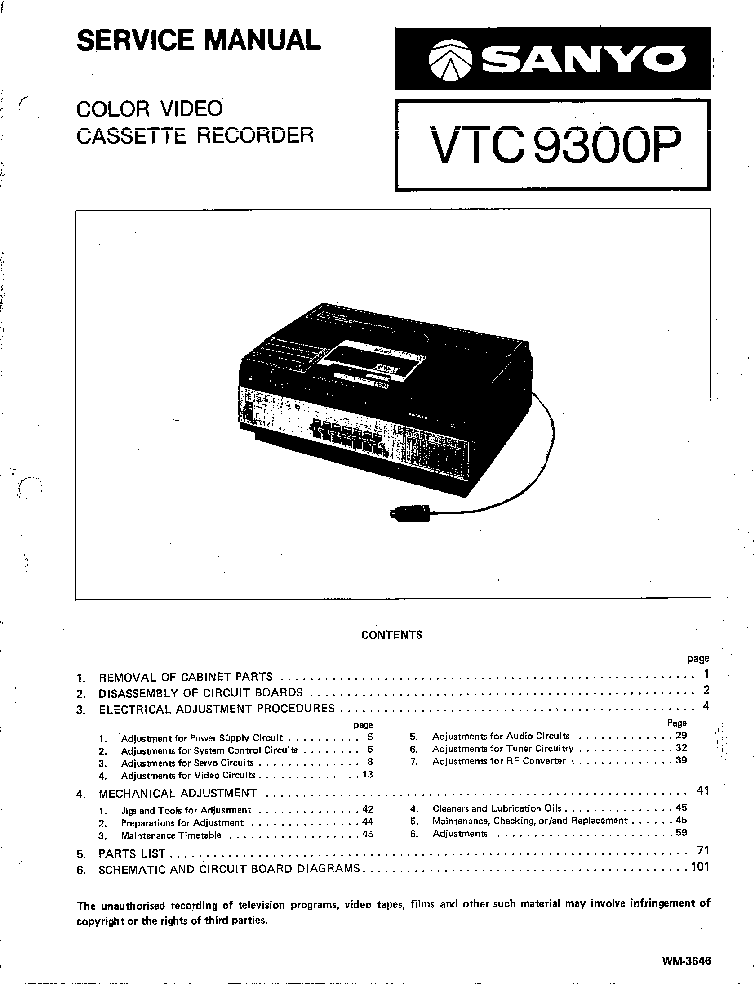 Vcr Repair Diagram Schematics Wiring Diagrams
