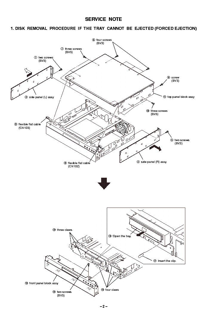 Sony Bdp S1 Service Manual Download Schematics Eeprom Repair Info