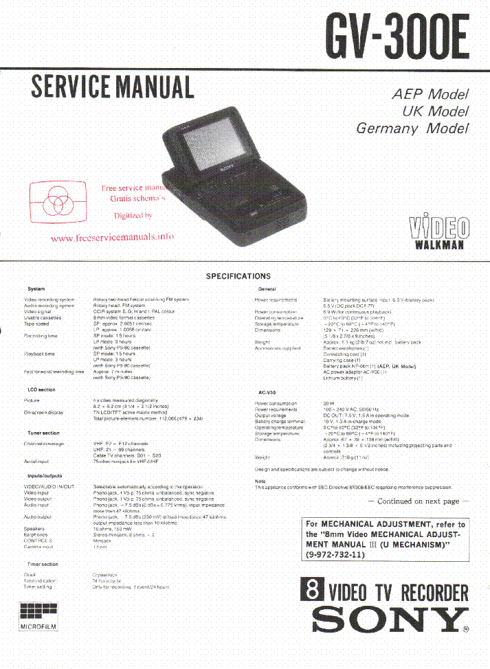 sony rdr vx555 manual pdf