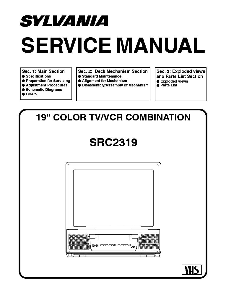 sylvania src2319 service manual download schematics eeprom repair rh elektrotanya com