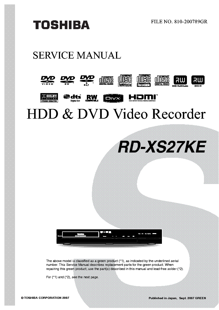Toshiba vcr dvd manual.