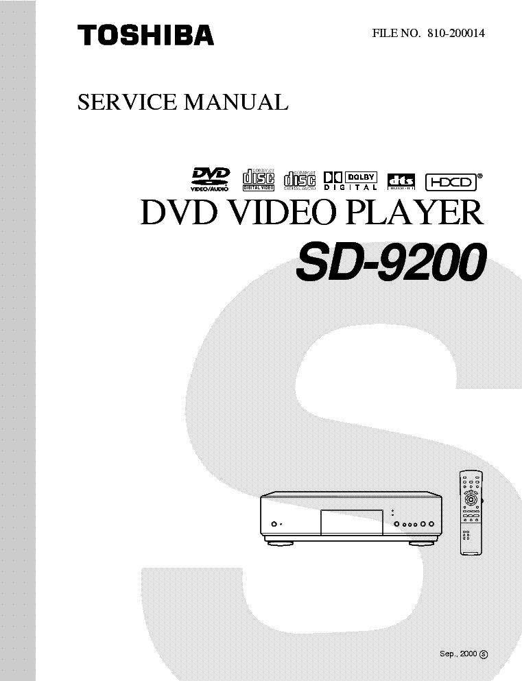 toshiba sd 9200 service manual download schematics eeprom repair rh elektrotanya com