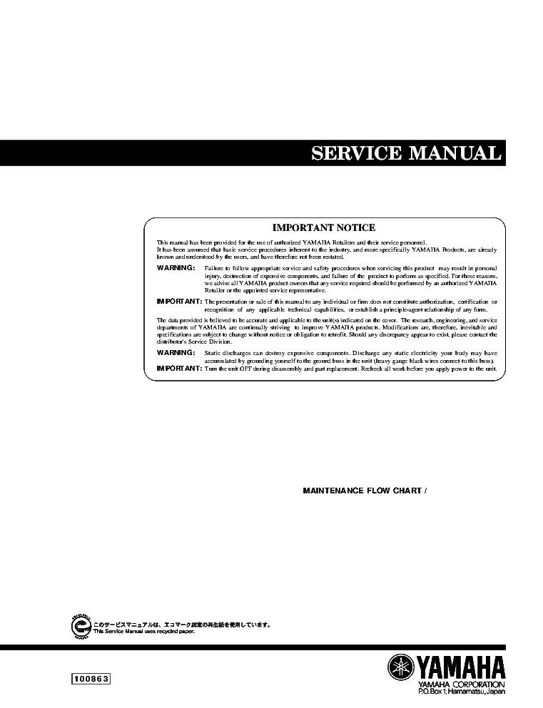 yamaha dvd s 540 5650 service manual download schematics eeprom rh elektrotanya com Thermo King Manuals yamaha 5650 manual