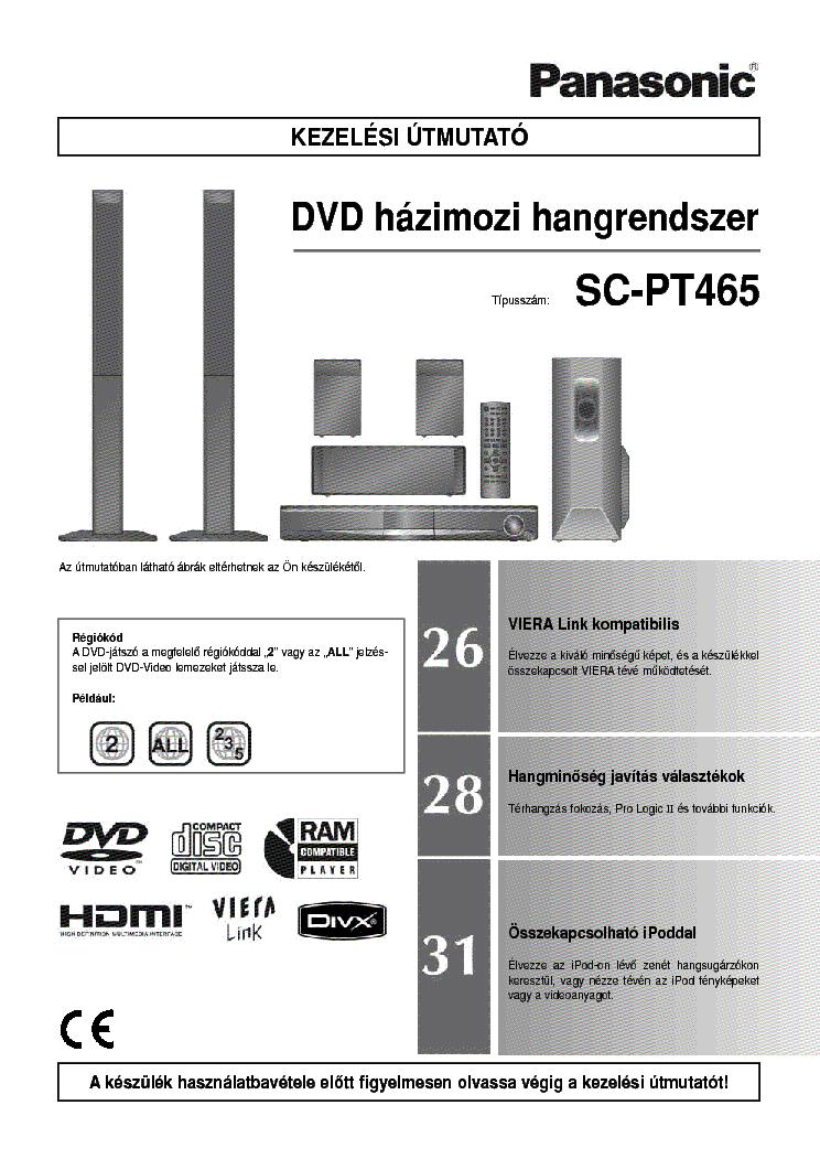 panasonic sa ak520 user manual