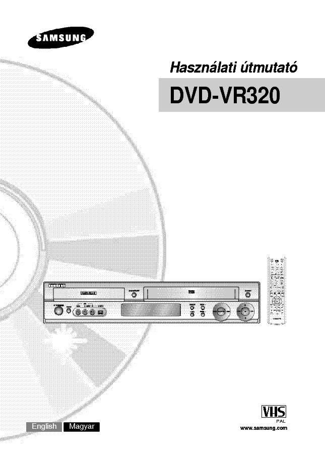 samsung dvd vr320 hasznalati utasitas service manual download rh elektrotanya com samsung dvd-vr320 manuel samsung dvd-vr320 manuel