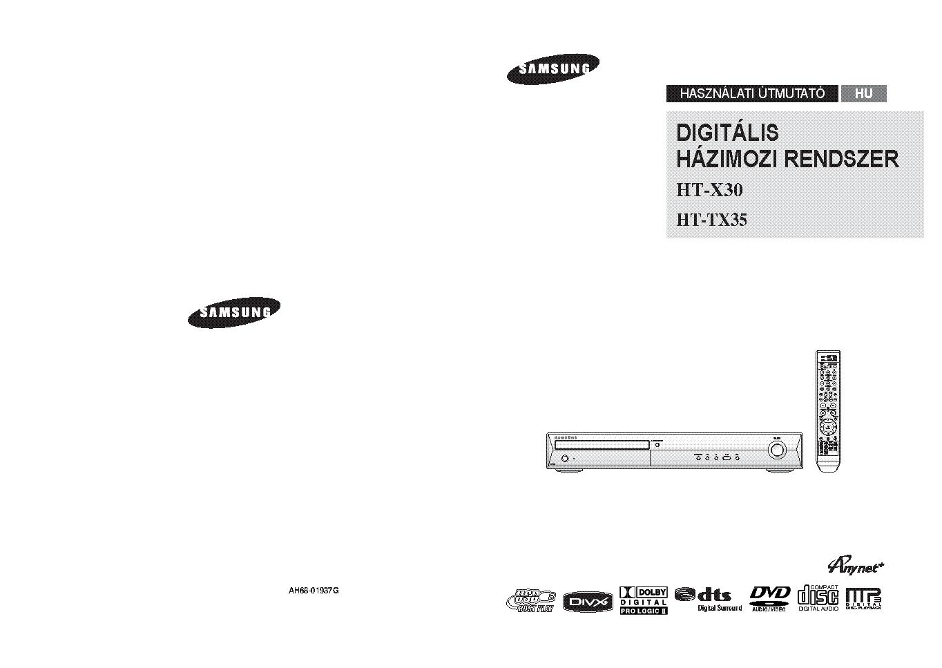 Samsung ht x30 service manual download, schematics, eeprom, repair.