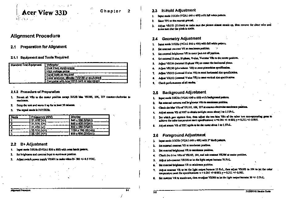 ACER 33D TELECHARGER PILOTE