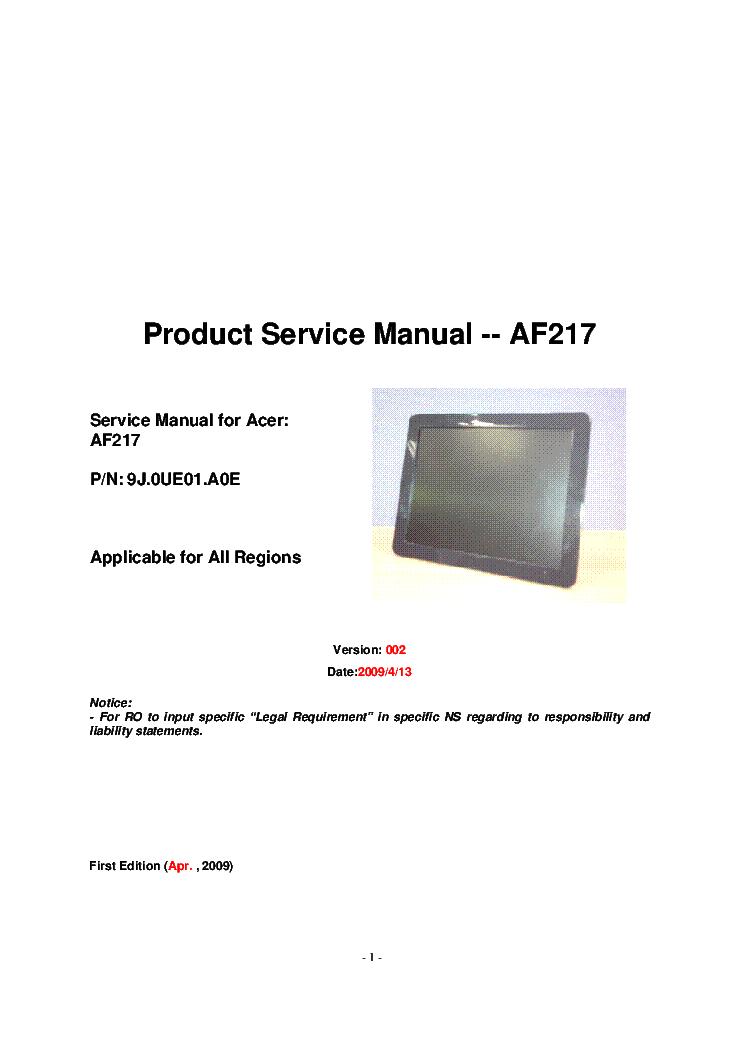 ACER FP558 WINDOWS 7 X64 TREIBER