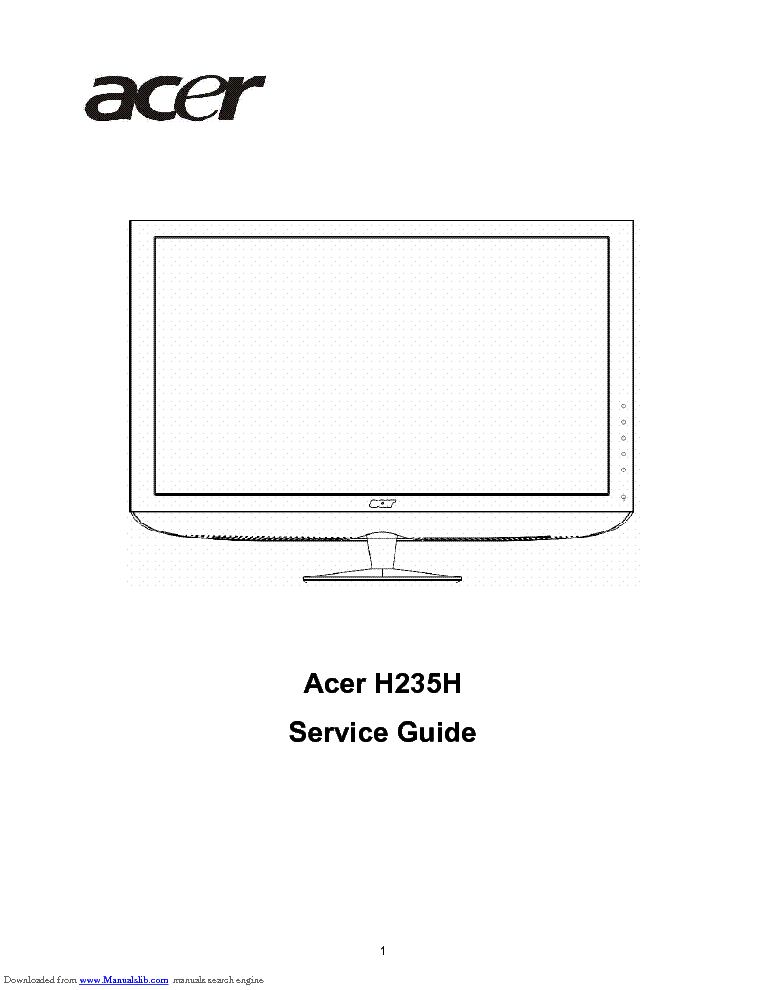 Acer h213h manual.