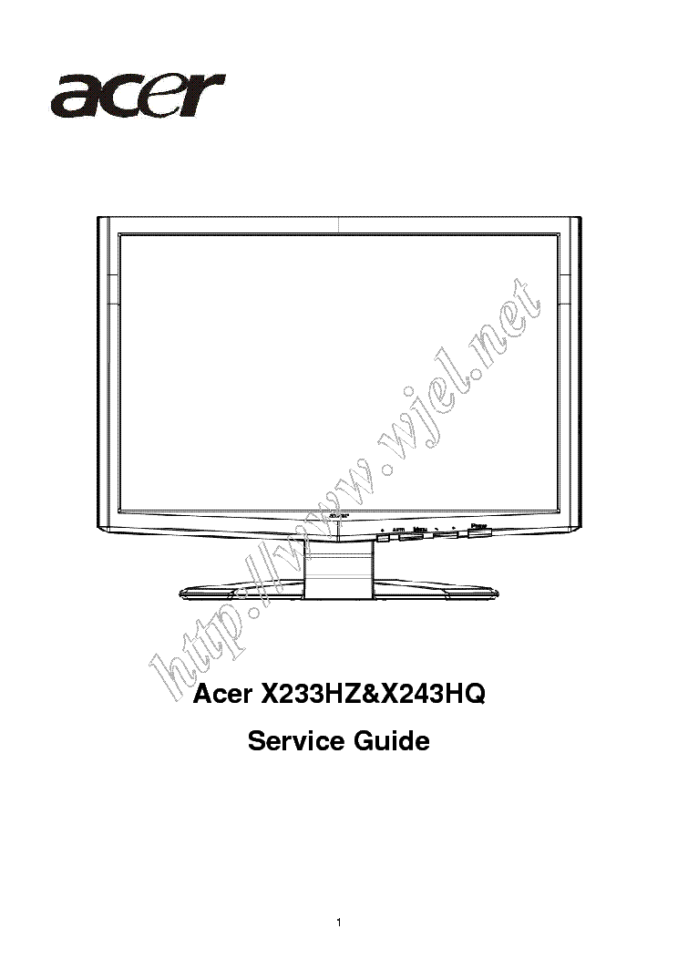 Acer Al512 Service Manual Free Download  Schematics  Eeprom  Repair Info For Electronics