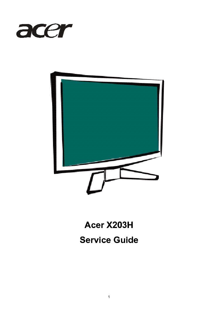 acer laptop repair manual pdf