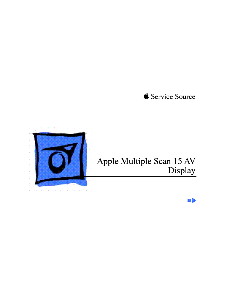 Apple Multiple Scan 15 Display Monitor Manual