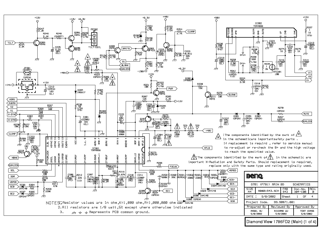 Philips chassis kl9-s service manual