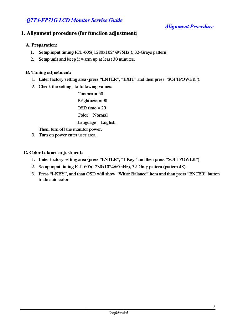 Benq q7t4 service manual.