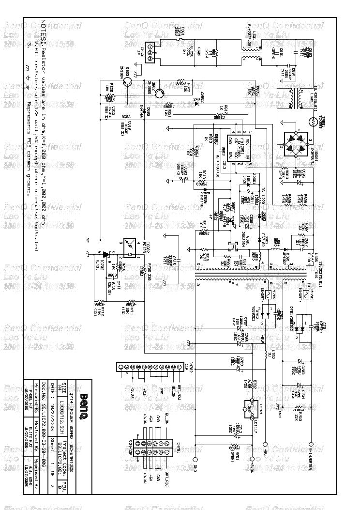 BENQ Q7T4 SCH service manual
