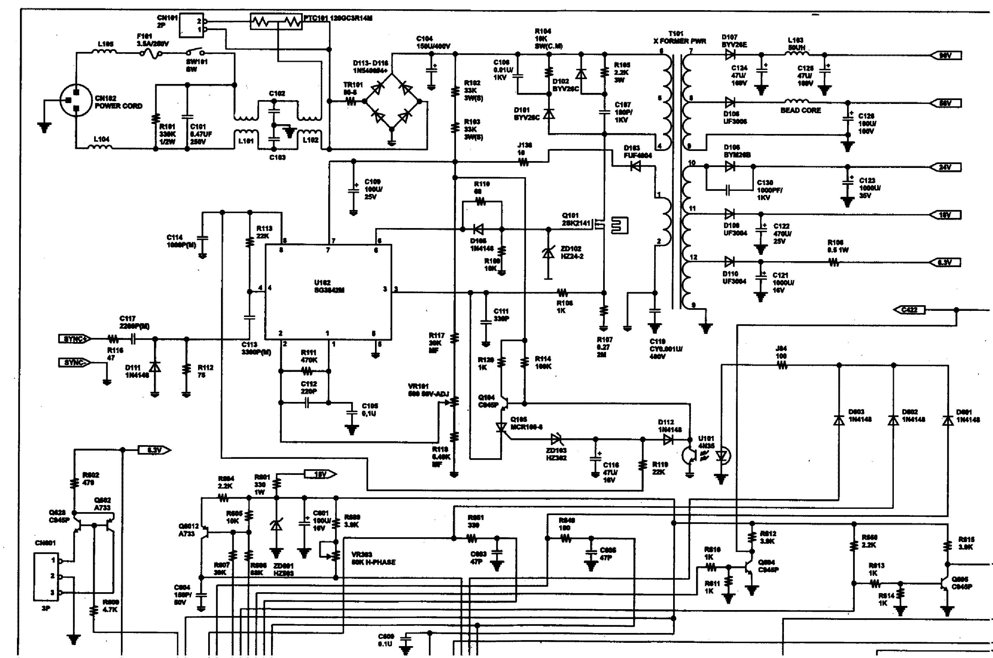 bridge cad451s sch service manual download  schematics  eeprom  repair info for electronics experts