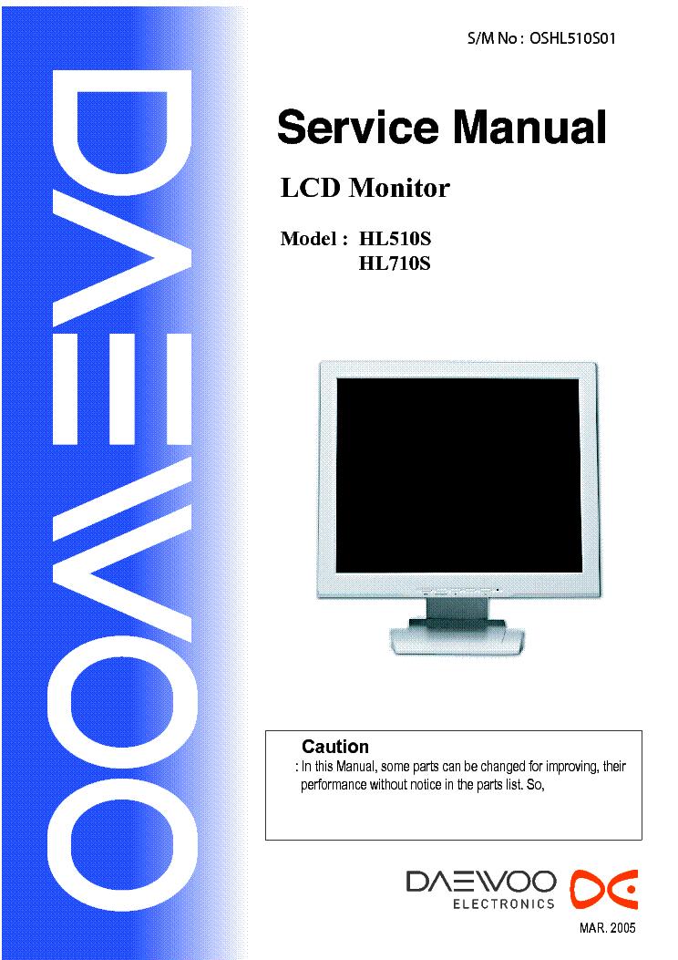 DAEWOO 710B DESCARGAR CONTROLADOR