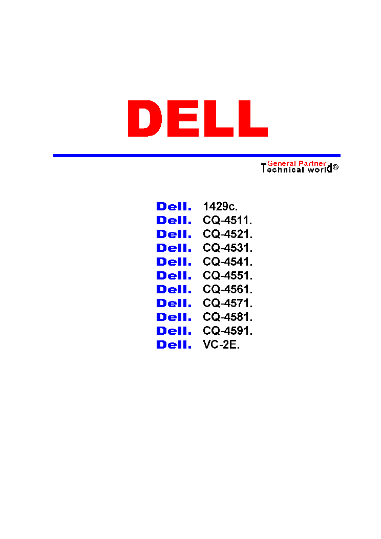 DELL 1429C CQ-4511,21,31,41,51,61,71,81,91 VC-24 SCH service manual (1st page)