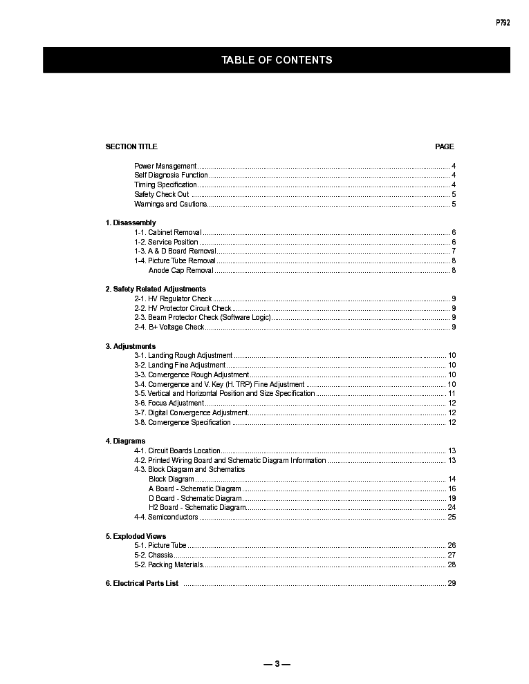 dell p792 chassis 17vc sm service manual (2nd page)