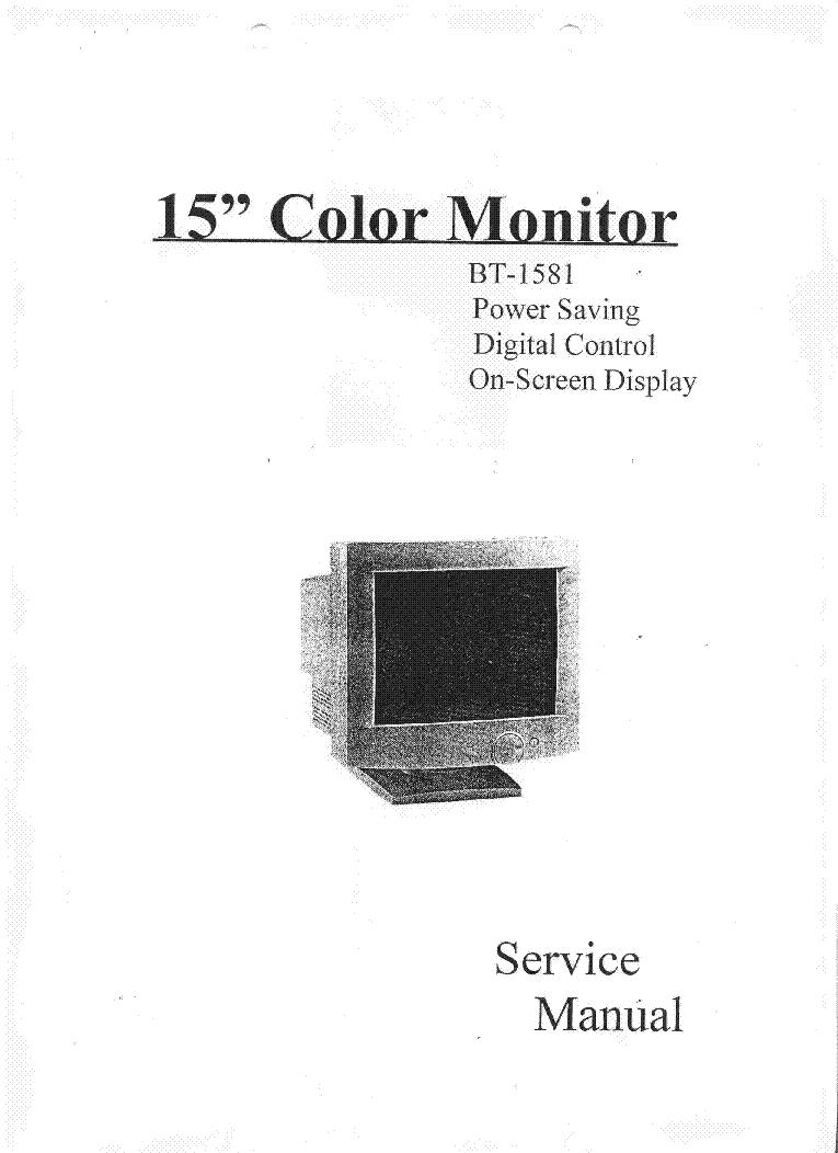 Futide Bt1581 Crt Service Manual Download Schematics Eeprom Screen Schematic 1st Page