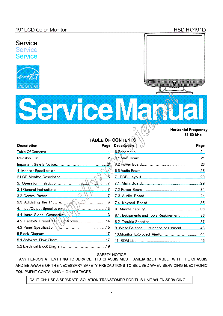 hannsg hq191d service manual download schematics eeprom repair rh elektrotanya com hanns g hg216d monitor manual hanns g monitor service manual