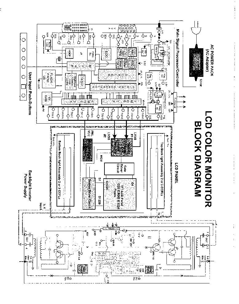 kortek lcd monitor service manual download  schematics  eeprom  repair info for electronics experts